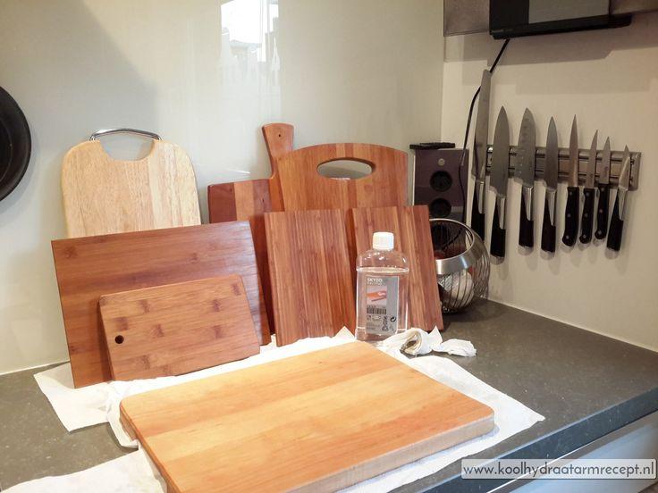 Onderhoud van houten snijplanken