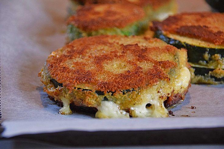 Zucchini - Cordon bleu, ein schönes Rezept aus der Kategorie Gemüse…(Vegan Recipes Eggplant)