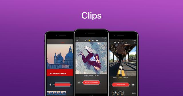 Η Apple κυκλοφόρησε την νέα της εφαρμογή Clips
