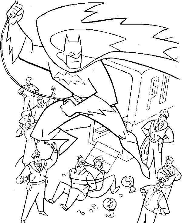 Batman villains coloring pages coloring pages for Super villains coloring pages