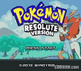 Pokemon Resolute Version (Hack) ROM Download for Gameboy Advance / GBA - CoolROM.com
