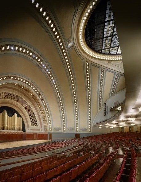 Hill Auditorium, University of Michigan Campus, Ann Arbor