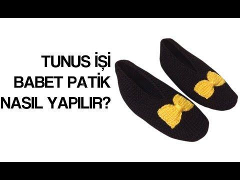 Tunus İşi Babet Patik Nasıl Yapılır? - YouTube