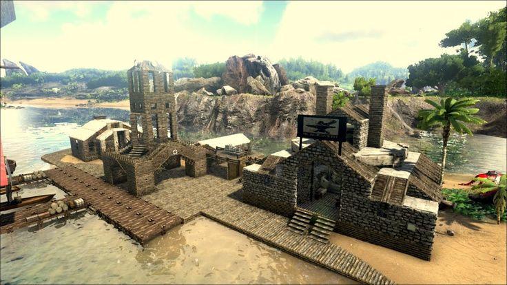 Image result for ark epic ragnarok builds | House styles ...