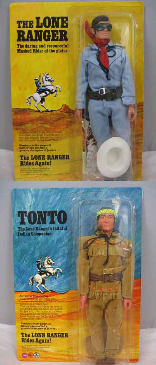 I received a Lone Ranger action doll for my 8th birthday. I don't think it was this one.