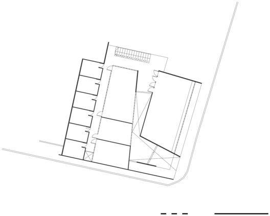 Edificio Administrativo Curricular Liceo María Auxiliadora,Planta 2