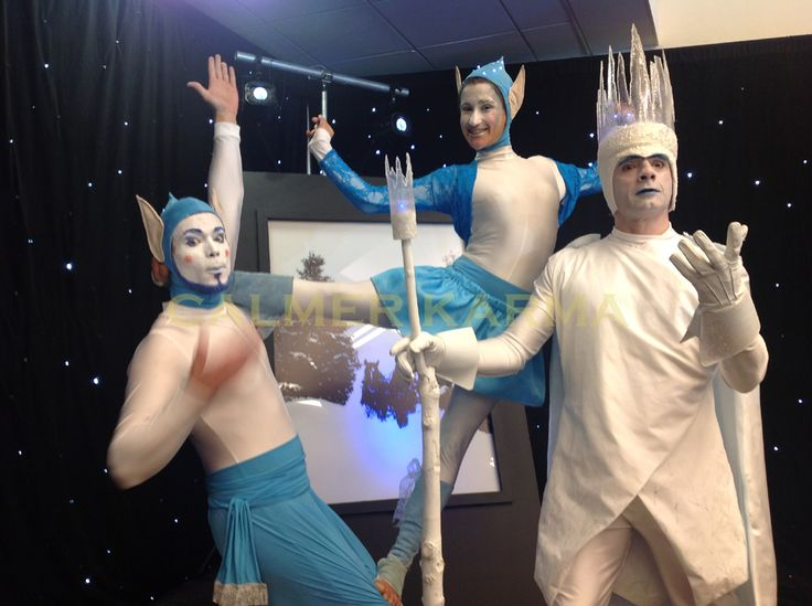 Christmas Party Entertainers -  acrobatic elfs and MC Show King to hire  http://www.calmerkarma.org.uk/winter-wonderland.htm    Perfect for corporate Christmas parties.   Hire across the UK inc MANCHESTER, LONDON, Cheshire, BIRMINGHAM, CARDIFF, Bristol