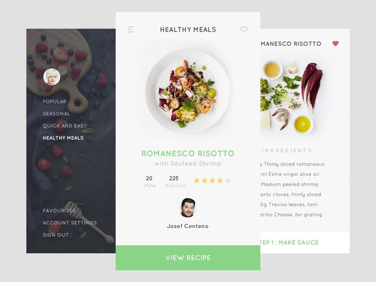 Recipe app by Thomas Budiman
