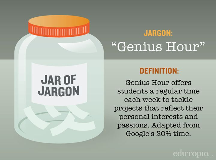 Ideas for using Genius Hour in your classroom.
