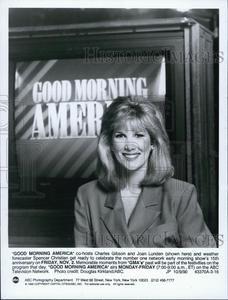 "Good Morning America Hosts | 1990 Press Photo ""Good Morning America"" Host Joan Lunden | eBay"
