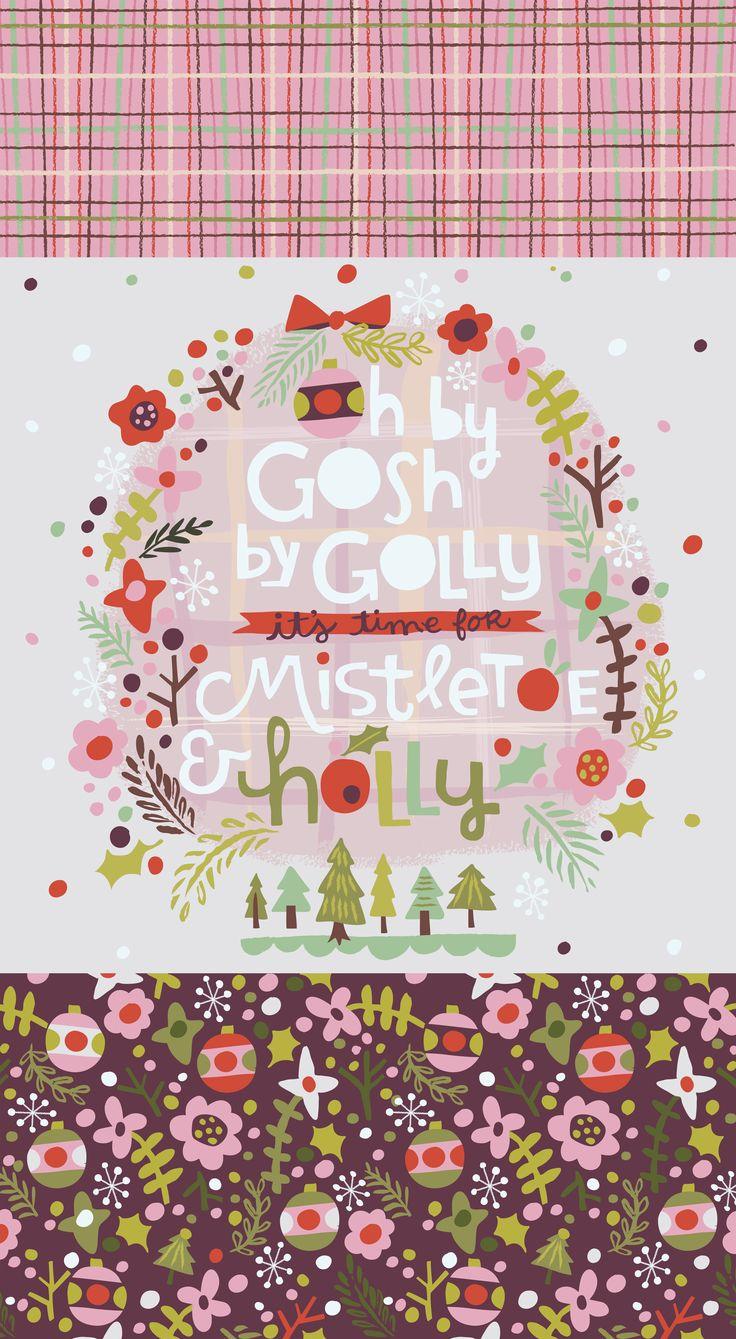 Jill Howarth / mistletoe and holly