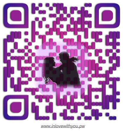 An 'atmospheric' QR Code. A picture tells a story!