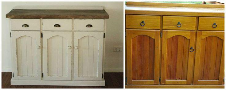 SVJETLANA PUSELJIC  Fabulous three drawer unit transformed with Blake & Taylor Furniture Paint in colour Hampton.