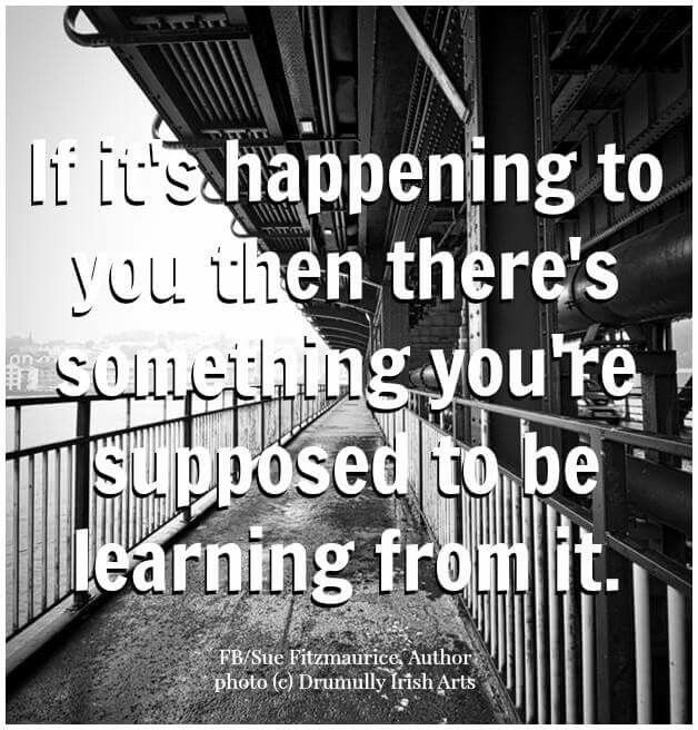 Best to figure it out so you won't keep experiencing it! http://www.liberatingdivineconsciousness.com