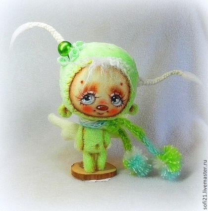 Букашечка Ангельская - ловец счастья) - букашка,кукла,авторская игрушка