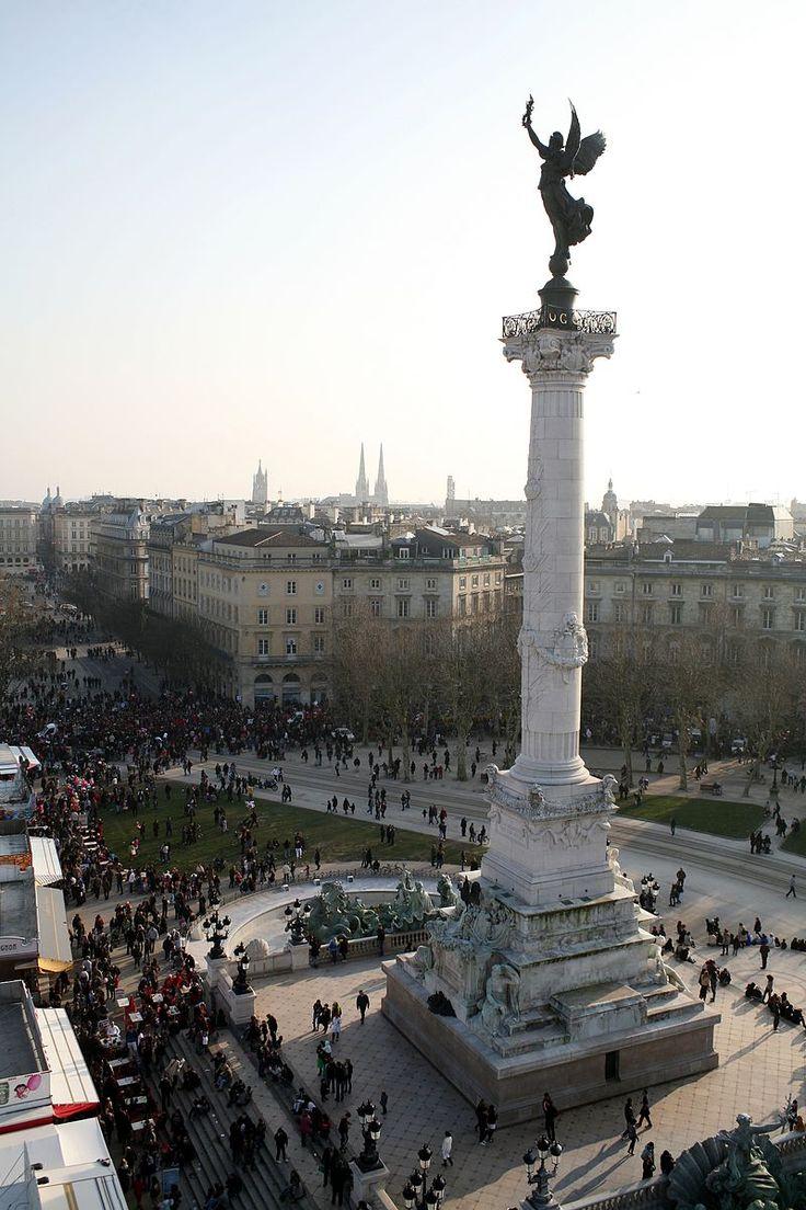 Bordeaux-Quinconces-Carnaval-2011 - Place des Quinconces