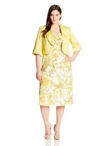 88c3086f1a8 Discover ideas about Casual Dresses For Women. Apparel  Dana Kay Women s  Plus-Size Sleeve Floral Printed Jacket ...