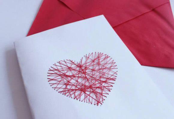 Como fazer um cartão de aniversário criativo com coração