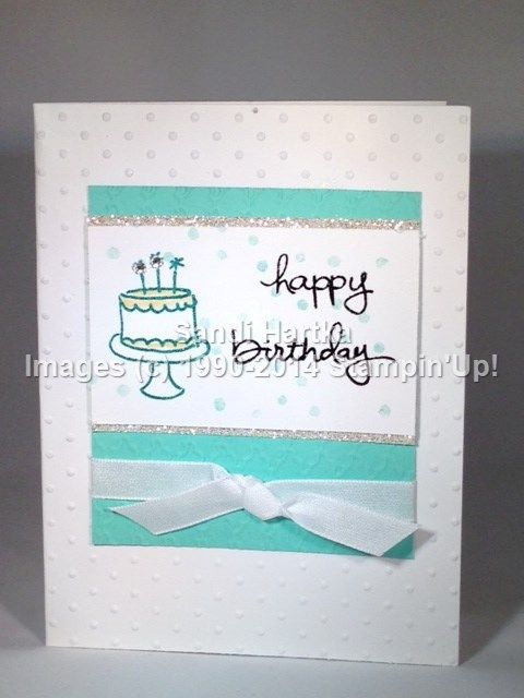 Stampin'Up! hand-stamped greeting cards, Stampinup, Endless Birthday Wishes