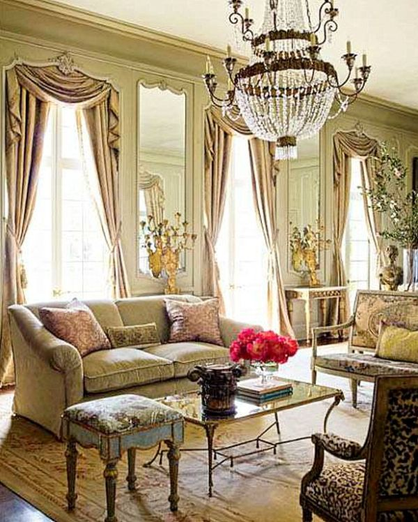 Blog with design tips aubusson rugs bring glory to for Beautiful traditional living rooms