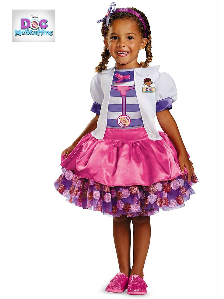 Toddler Doc McStuffins Tutu Deluxe Costume | Wholesale Superhero Costumes for infants & toddlers