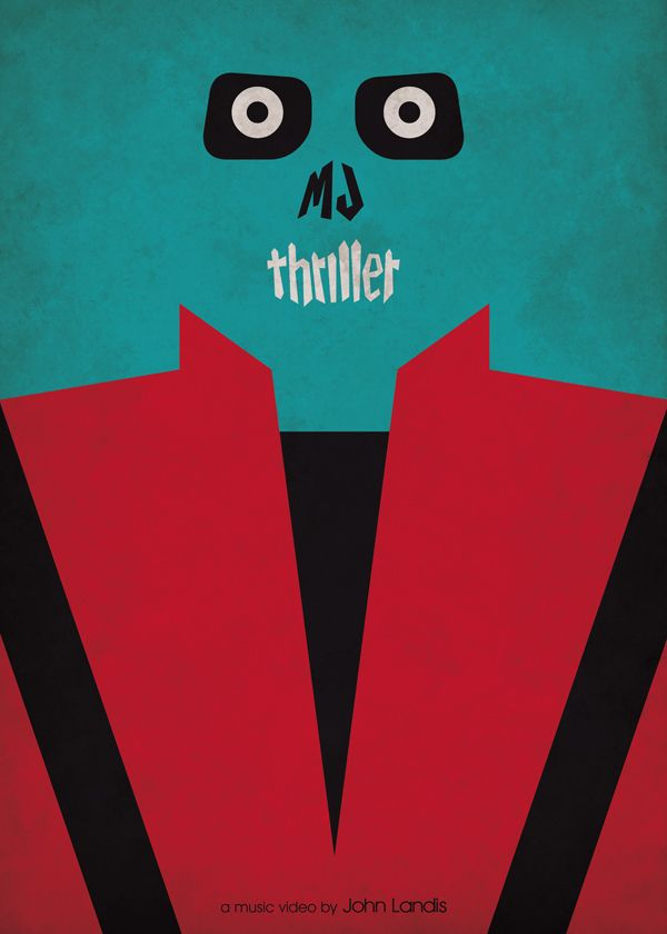 Thriller Minimal Poster