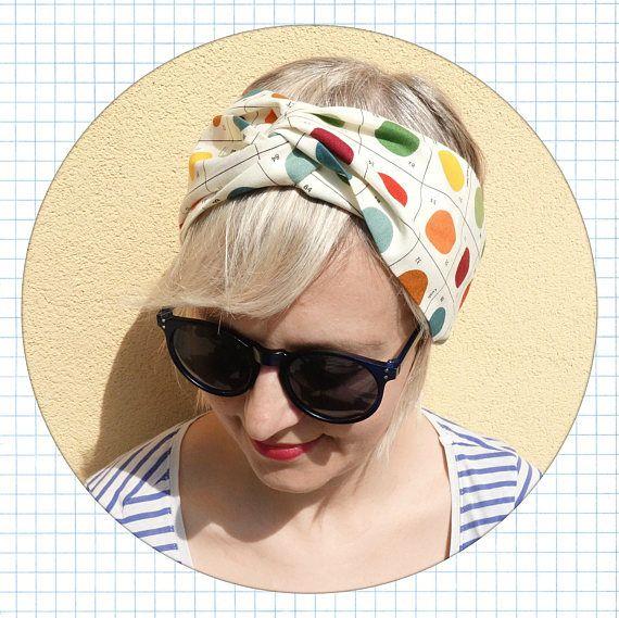 fascia per capelli turbante in cotone fascia in cotone