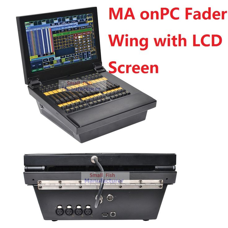 2017 New DMX 2048 Controller MA onPC Fader Wing with Tocuh LCD Screen Monitor Extend to 4096 Parameters Stage Lights DMX Console Price: USD 1480 | United States