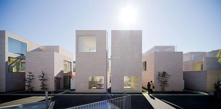 Sejio Apartments Tokyo - Architect Kazuyo Sejima - Photography Iwan Baan