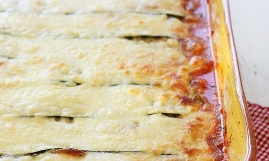 Zucchini Lasagna | Quick Food Recipes- good recipe but needs less salt and pepper and more sauce!