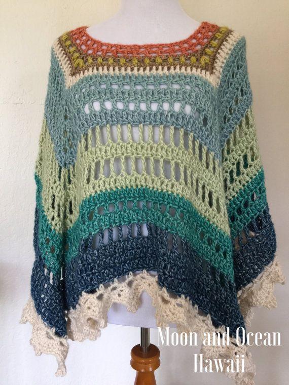 Crochet Poncho(custom order)