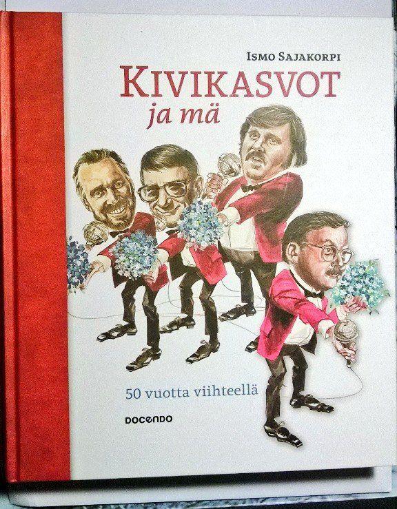 """Satu Ylävaara Twitterissä: """"#kirjaploki #Kivikasvot #IsmoSajakorpi merkittävä kotim. kauhun, kauhukomedian, kumman tekijä. Sokoksen ale 70%. https://t.co/IS14DgfYrS"""""""