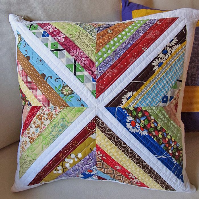 string block quilted throw pillow | Flickr - Photo Sharing!