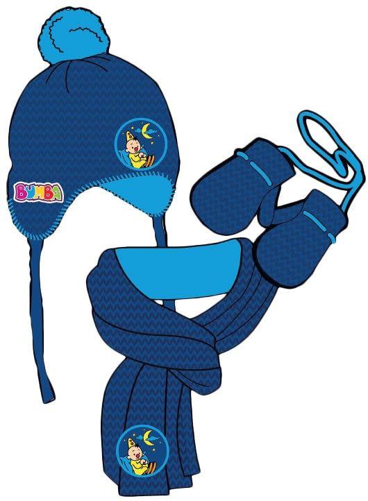 Met de winterset van Bumba kan de winter beginnen! Een setje bevat een muts, sjaal en wanten. Door de fleece voering blijft jouw kindje lekker warm deze winter. Dit setje is geschikt voor kinderen vanaf 1 tot 4 jaar.   Afmeting: 600x290x40 mm - Winterset Bumba blauw