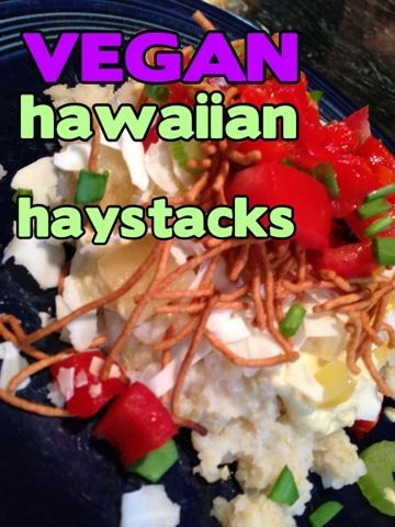 23 best 10 vegan hawaiian recipes images on pinterest hawaiian what vegan kids eat vegan hawaiian haystacks added mushrooms to our cashew sauce serve hot and yumm forumfinder Images
