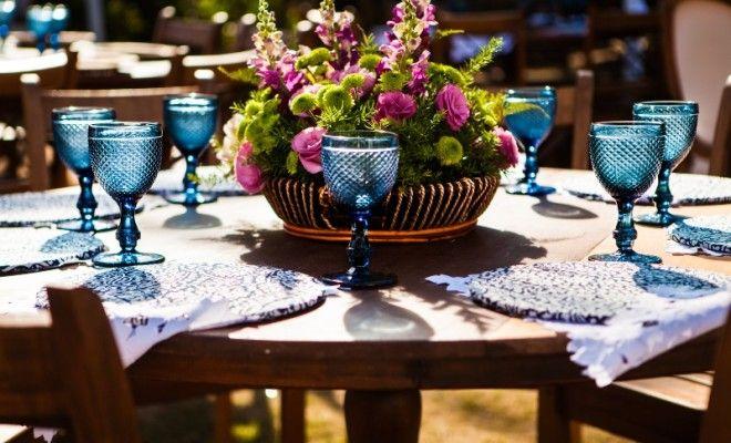 15 inspirações de centro de mesa para o seu casamento