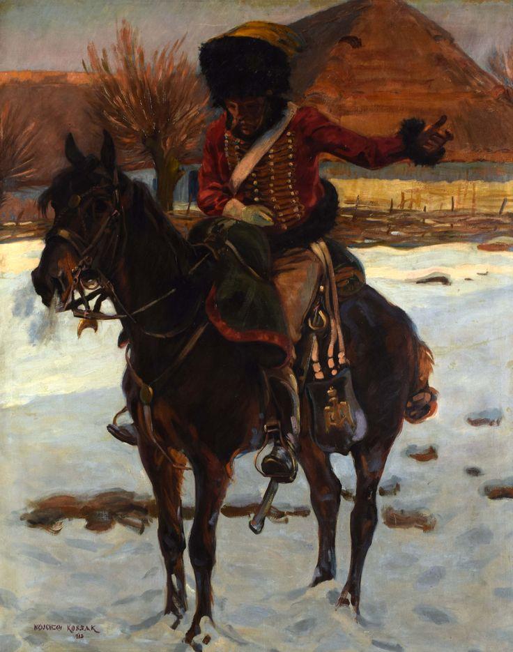 """Kossak Wojciech (1857-1942) """"Strzelec konny"""""""