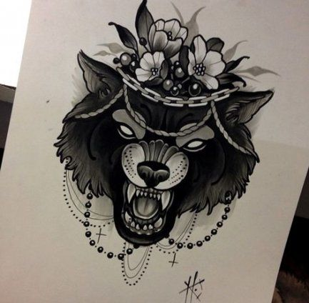 Trendy Tattoo Wolf Drawing Thighs 62 Ideas