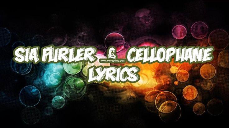 Sia Furler - Cellophane Lyrics