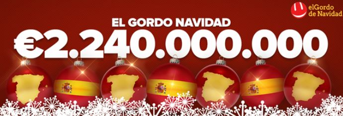 Quer que o Natal chegue mais cedo e que seja cheio de prosperidade?  El Gordo de Navidad, 22 de dezembro, a MAIOR RIFA DO MUNDO! www.grandesloterias.com