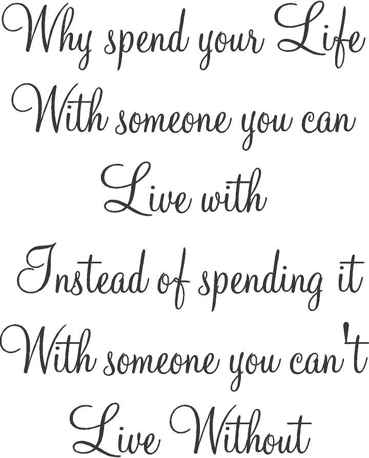 Can't live without you Quotes | Home > Can't Live Without ...