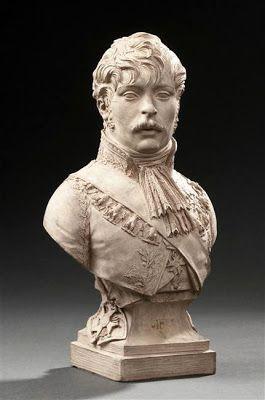 Joseph Chinard - Buste dr Eugene de Beauharnais, Napoleon's stepson.