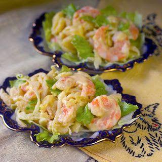 lostpastremembered: Великая депрессия и креветок салат из макарон с соусом Вареный