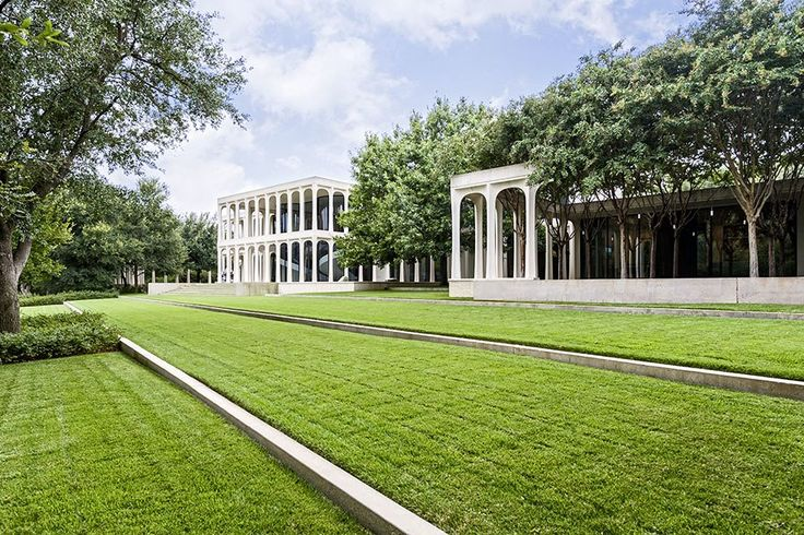 An elegant mansion designed by famed architect Philip Johnson hits the market in Dallas, Texas
