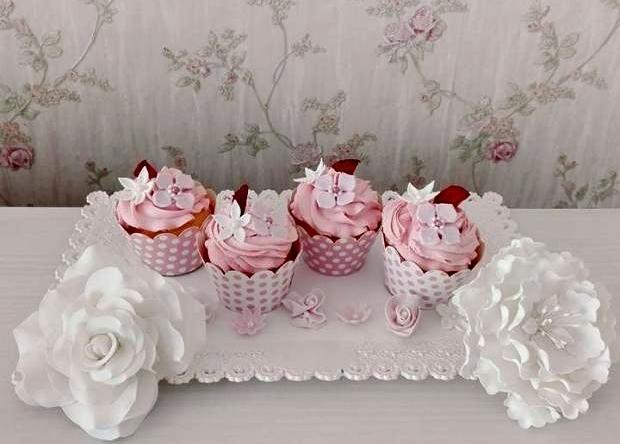 Recept na nádherné a chutné cupcakes. Ďakujeme Vieruš, že sa podelila o svoje umenie:)