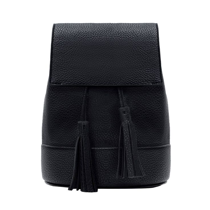 Bucket Backpack with Tassel - Zara