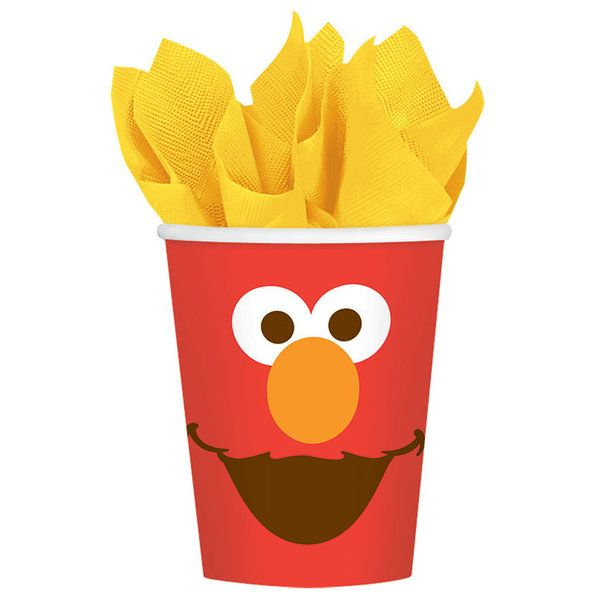 Check out Elmo Paper Cups | Elmo's 1st Birthday party supplies from Birthday in a Box from Birthday In A Box