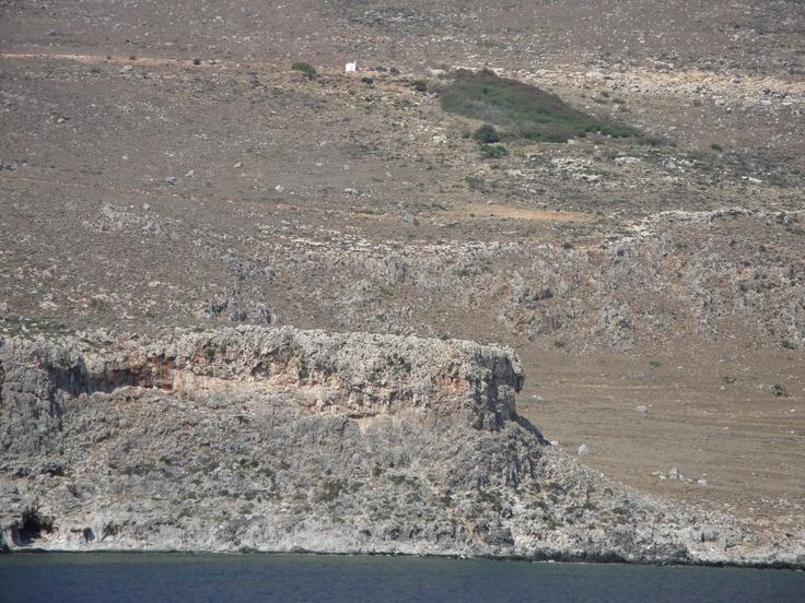 West coast of  Crete