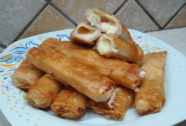 Φλογέρες με καπνιστή γαλοπούλα - Συνταγές Μαγειρικής - Chefoulis