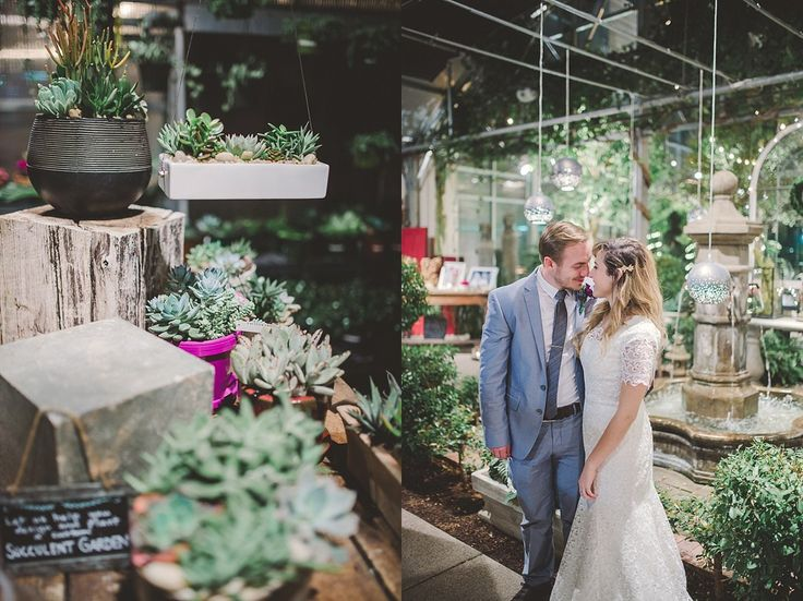 Cactus and Tropicals Wedding | SLC Temple - Kylee Ann Photography | Logan Utah Wedding Photographer